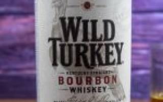 Обзор виски Wild Turkey