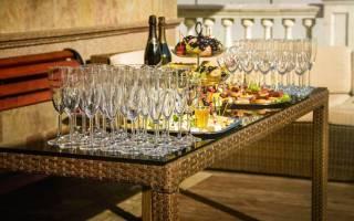 Как подобрать закуску к определенному виду шампанского
