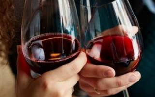 Польза и вред красного вина для здоровья