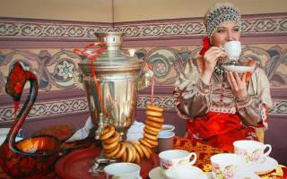 Коктейль Russian Tea Русский национальный