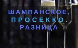Обзор шампанского Просекко