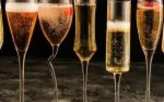 Как правильно пользоваться бокалами для шампанского