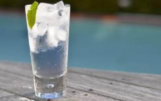 Коктейль Vodka and Tonic Водка тоник