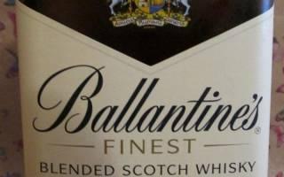Все что нужно знать о невероятном виски Ballantines (Баллантайнс)