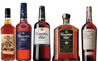 Обзор виски Canadian Club (Канадиан Клаб)