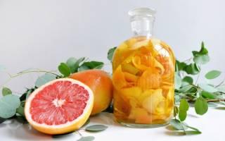 Рецепт приготовления настойки на грейпфруте