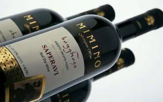 Обзор вина саперави