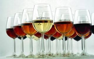 Херес: дигустационные характеристики и особенности напитка