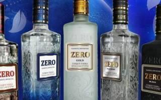Водка Зеро и ее особенности