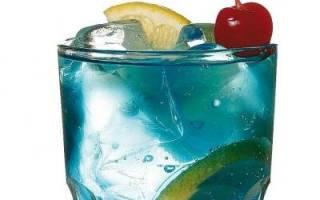 Рецепты коктейлей с сиропом Блю Кюрасао