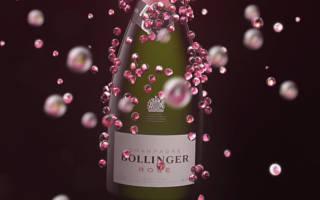 Розовое шампанское и его особенности