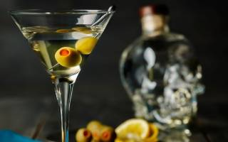 Коктейль Vodka Martini Водка мартини