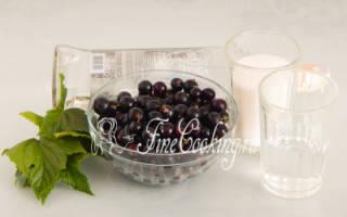 Как приготовить черносмородиновый ликер в домашних условиях