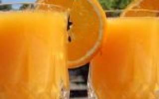 Коктейль Halle Berry Горячий апельсин