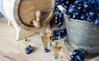 Виноградная водка и ее особенности
