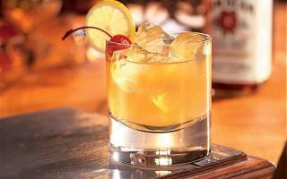 Коктейль Maple Sour Кленовый сауэр