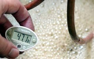 При какой температуре происходит брожение браги из сахара и дрожжей
