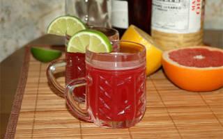 Коктейль Raspberry-infused Gin Джин на малине