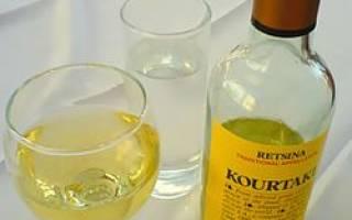 Обзор вина рецина