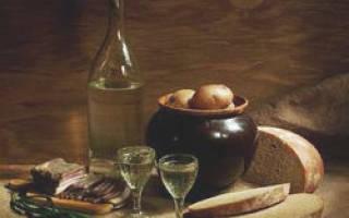 Простой рецепт самогона