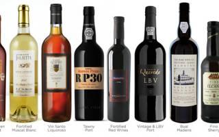 Особенности портвейна: какое это вино