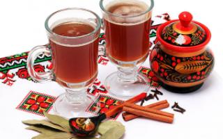 Традиционные национальные напитки: их особенности, рецепты приготовления