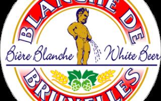 Обзор пива Бланш де Брюссель