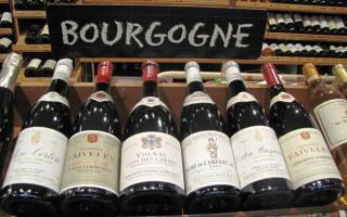 Обзор видов бургундского вина