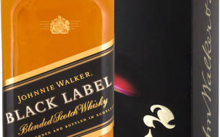 Обзор виски Johnnie Walker Black Label (Джонни Уокер Блэк Лейбл)