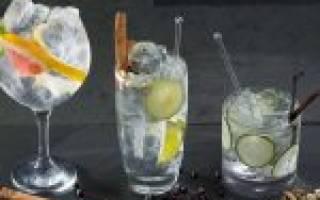 Коктейль Gin and Bitter Lemon Джин биттер лемон