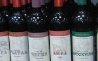 Обзор вина Чегем