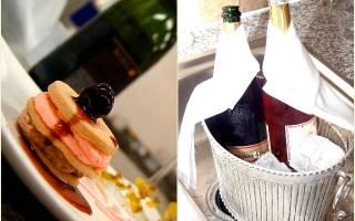 С чем обычно пьют шампанское