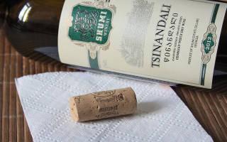 Обзор вина цинандали