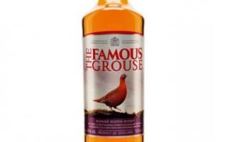 Виски The Famous Grouse (Фэймос Граус) и его особенности