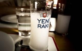 Турецкая водка ракы и ее особенности