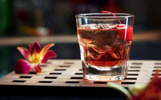 Коктейль Whiskey and Apple Juice Виски яблочный сок